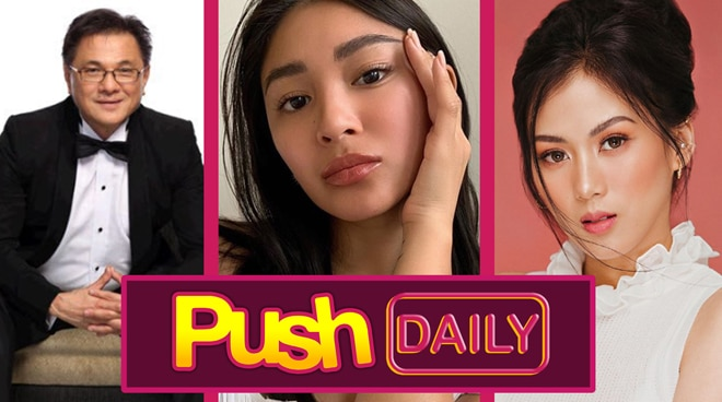 Ricky Lo, Nadine Lustre and Alex Gonzaga   Push Daily Top 3