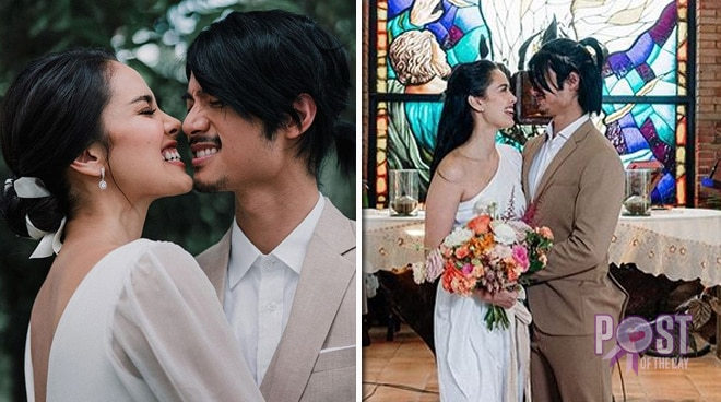 Mikael Daez and Megan Young get married