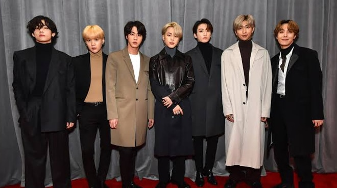 BTS becomes first K-Pop act to perform at the Grammys