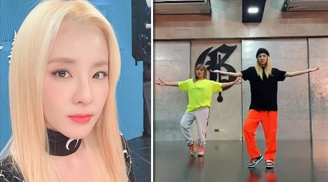 Sandara Park does Kpop version of the Tala challenge
