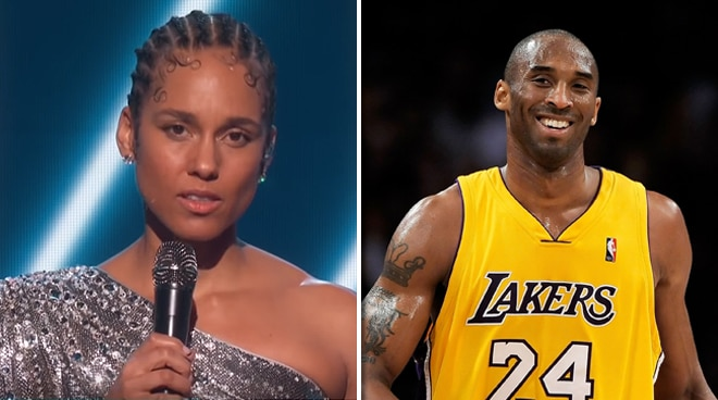 Alicia Keys opens Grammys with touching tribute to Kobe Bryant