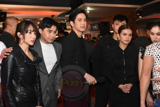 The main cast of Block Z are all present at movie's premiere last Monday, Jan. 27.