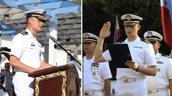 Dingdong Dantes shares speech about heroism with Philippine Navy