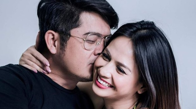 Regine Tolentino shares sweet kissing photos with partner