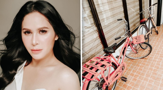 How much is Jinkee Pacquiao's Hermes bicycle?