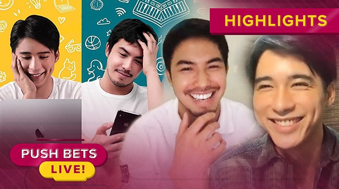 Tony Labrusca, JC Alcantara on portraying gay roles in BL series 'Hello Stranger' | Push Bets Live