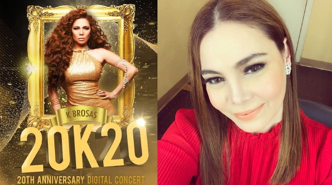 K Brosas celebrates 20 years in showbiz with an online concert on July 31