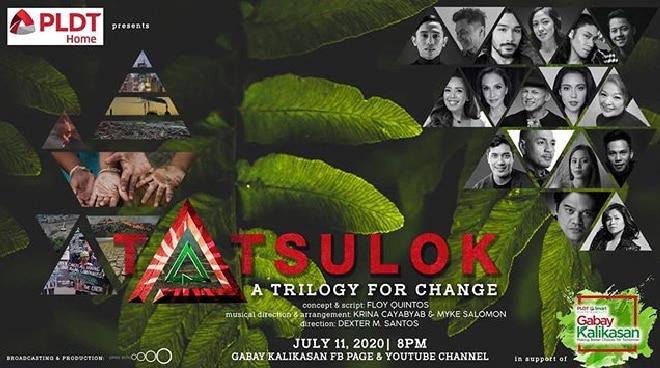 Kakai Bautista, Aicelle Santos, theater artists unite for climate change advocacy