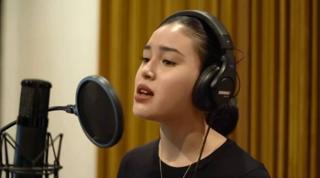 Claudia Barretto performs with One Republic on their latest single, 'Better Days'