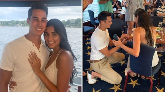 Ex-'PBB' housemates Tanner Mata and Maria Fabiana announce engagement