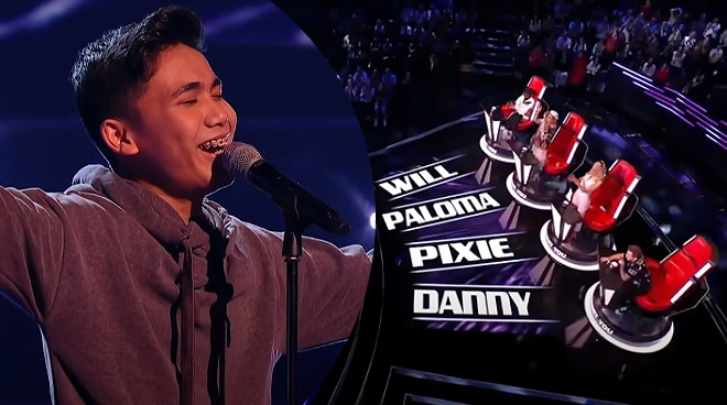 WATCH: Young Filipino singer gets four chair turns on 'The Voice Kids UK'