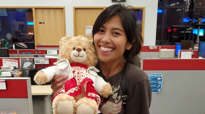 Filipina's stolen teddy bear with late mom's voice recording finally found