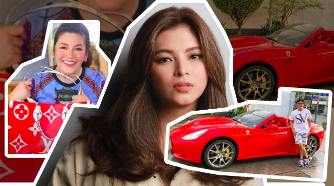 Angel Locsin's mass testing fundraiser features 11 million-peso car, 150,000-peso bag