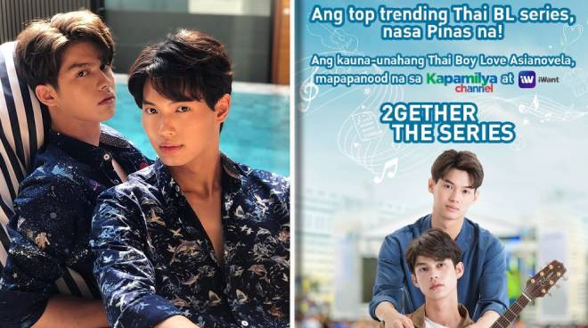 Thai BL series '2gether' to air in PH via Kapamilya Channel, iWant