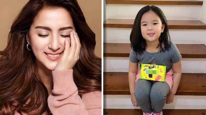 EXCLUSIVE: Ara Mina's five-year-old daughter Mandy to start vlogging