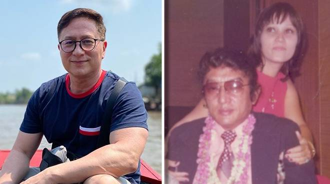 Eric Quizon pays tribute to mom on her birthday, dad ahead of Father's Day