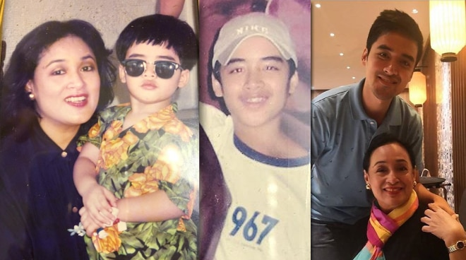 Coney Reyes shares growing up photos of son Vico Sotto for his birthday