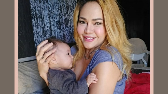 MEET LITTLE BOOBA: Ethel Booba's first baby Michaela is now four months old