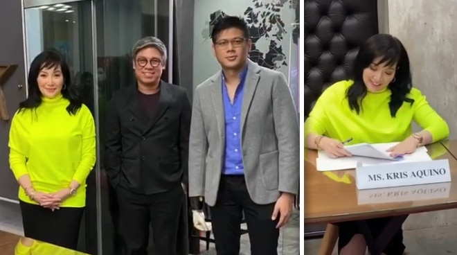 After teasing new chapter, Kris Aquino reveals inking deal with Cornerstone