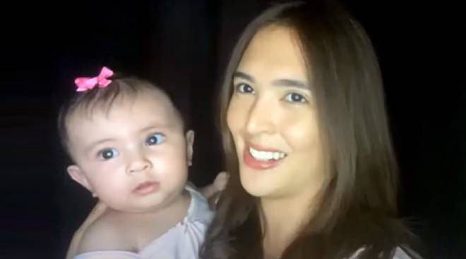 WATCH: Sofia Andres surprises fans with special appearance of daughter Zoe in new video
