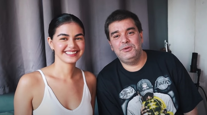 WATCH: Janine Gutierrez asks dad Monching Gutierrez if he wants to get married again