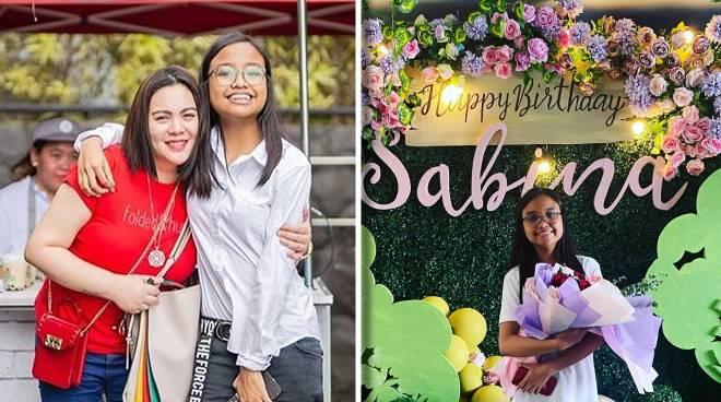 Claudine Barretto's daughter Sab turns 16