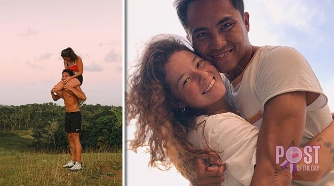 LOOK: Andi Eigenmann and partner Philmar Alipayo exchange sweet messages on their anniversary