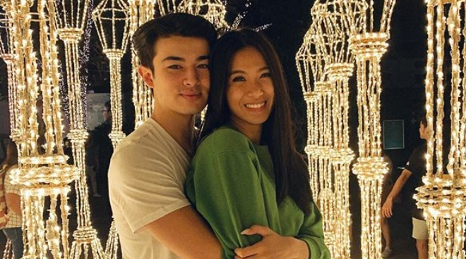 Andre Brouillette and Lou Yanong celebrate their 15th monthsary