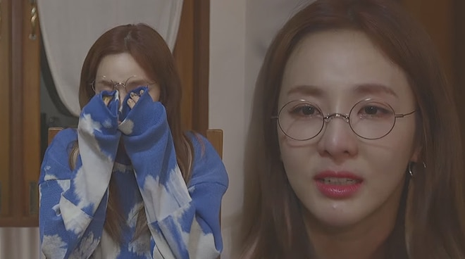 Sandara Park in tears as she talks about hopes for a 2NE1 reunion