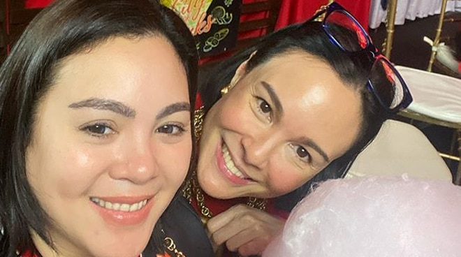 Claudine Barretto admits feeling down lately, sister Gretchen tells her to never give up