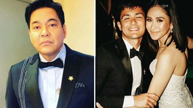What is Martin Nievera's advice to newlyweds Matteo Guidicelli and Sarah Geronimo?