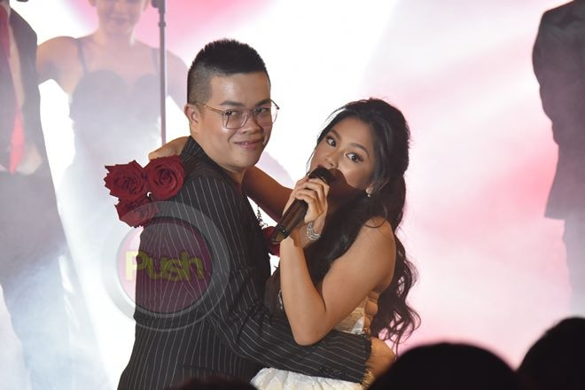 Young celebrity Ylona Garcia performed at her 18th birthday party.