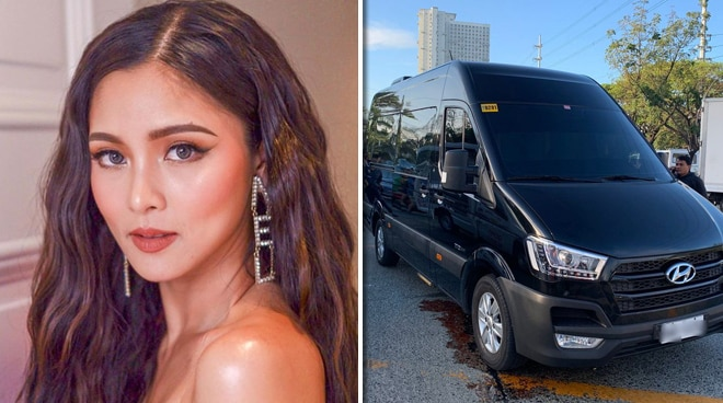 Two unidentified gunmen shoot Kim Chiu's van; actress and companions unhurt