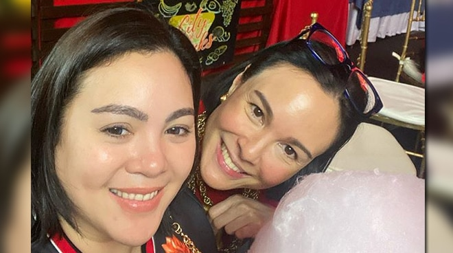 LOOK: Gretchen Barretto turns 50, celebrates with sister Claudine