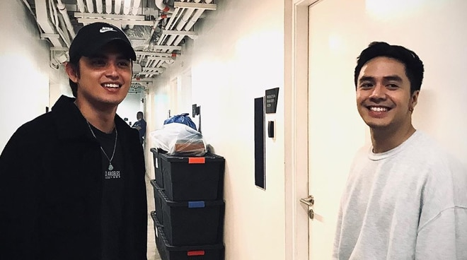 James Reid shows support for good friend Sam Concepcion and his musical 'Joseph the Dreamer'