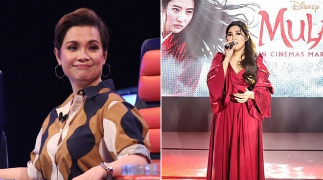 Lea Salonga reacts to Moira dela Torre singing 'Reflection' for local release of 'Mulan'