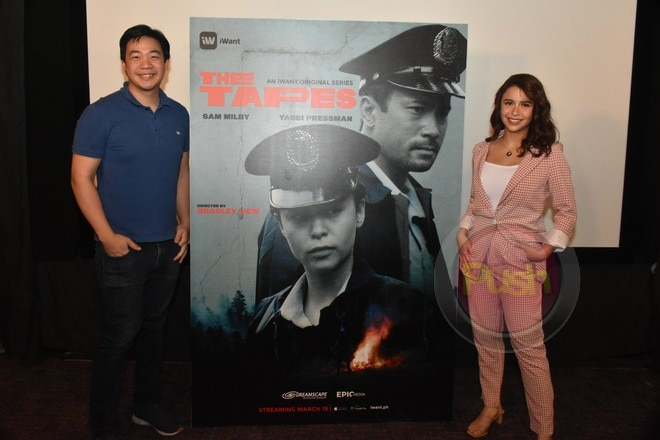 Yassi Pressman will join Sam Milby in 'The Tapes' to stream on March 18 on iWant.