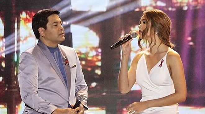 Martin Nievera commends Catriona Gray as a singer, advises her to keep singing