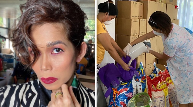 Pokwang slams bashers for criticizing her relief goods operations amid COVID-19 pandemic