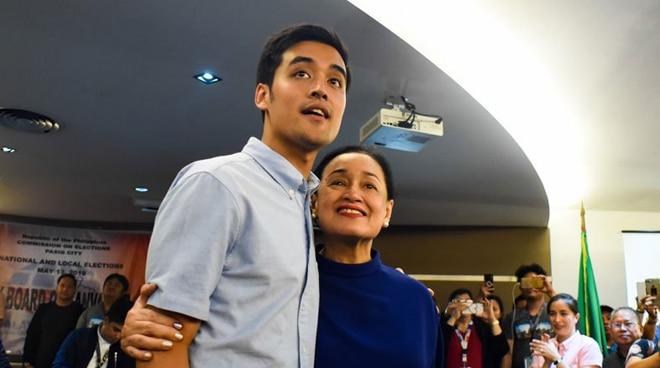 Coney Reyes thanks frontliners for tirelessly working alongside son Vico: 'Bilib ako sa inyo'