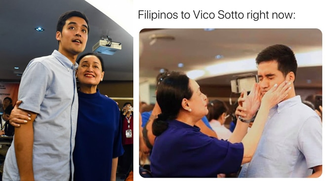 Vico Sotto trends on social media, tagged as 'Favorite ni Mama' in meme