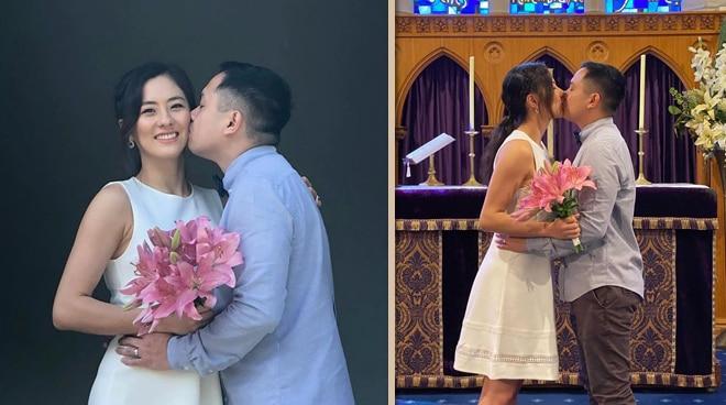Tuloy ang kasal! Jinri Park at fiance, ipinagpatuloy ang na-postpone na church wedding