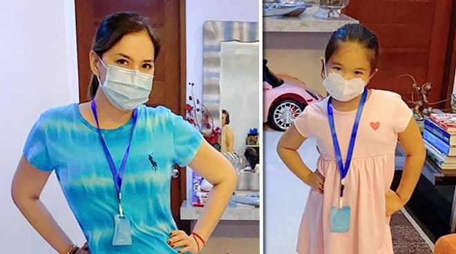 Ara Mina, nasaktan sa komento ng netizen sa pagsusuot niya at ng baby niya ng face mask