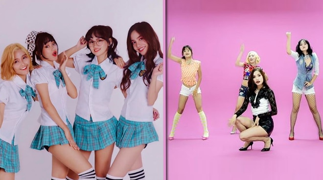 Korean-trained Filipina girl group 'Clover' releases debut song