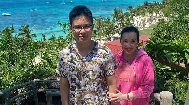 LOOK: Kris Aquino gives update on son Bimby's health