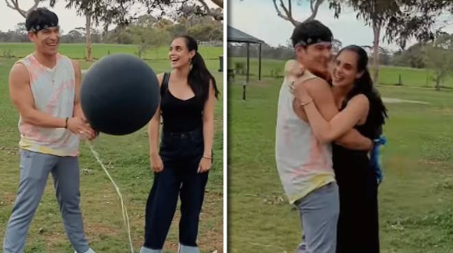 WATCH: Max Collins, Pancho Magno reveal gender of baby