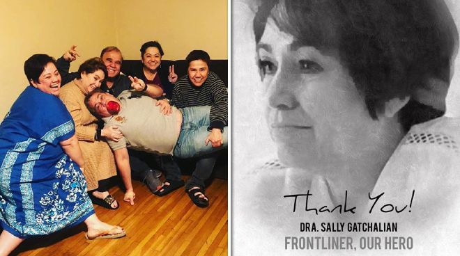Sister of Ruby Rodriguez, Dr. Sally Gatchalian, succumbs to COVID-19