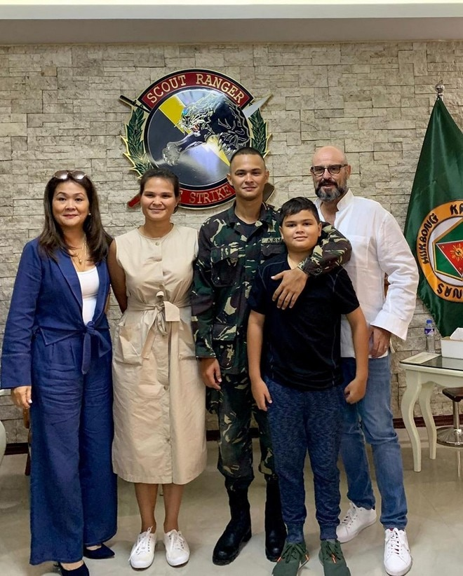 Birthday boy Matteo's family share photos of the Kapamilya heartthrob for the online world to see.