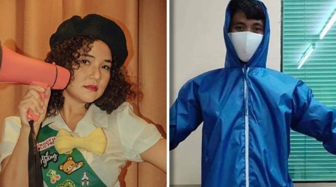 Ex 'PBB' housemate Mich Dulce helps design internationally-approved protective gear for medical frontliners