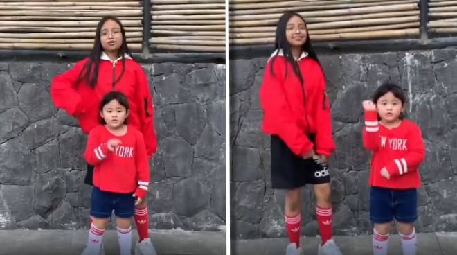 WATCH: Claudine Barretto's daughters Sabina, Quia in dance video for frontliners